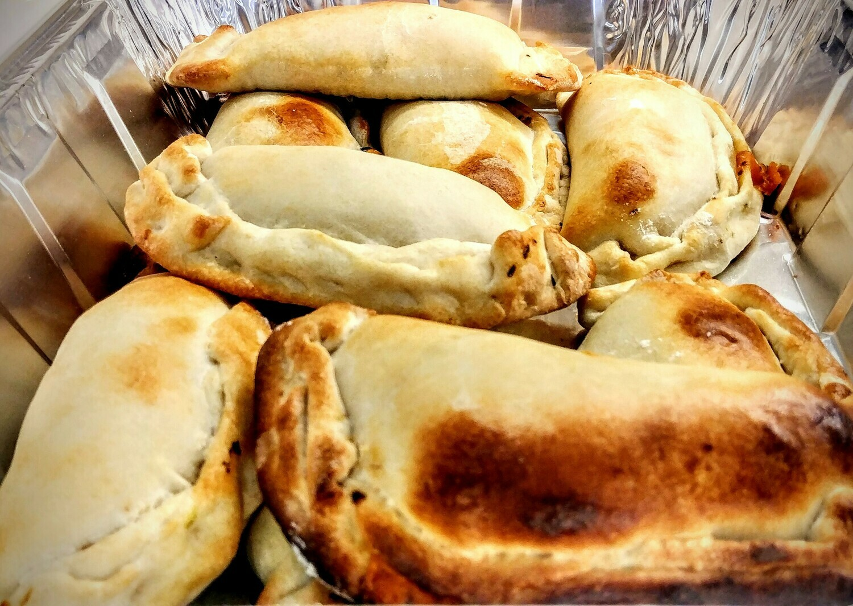 Empanadas Individual Vegetarian - Mushrooms, Salsa & Cheese