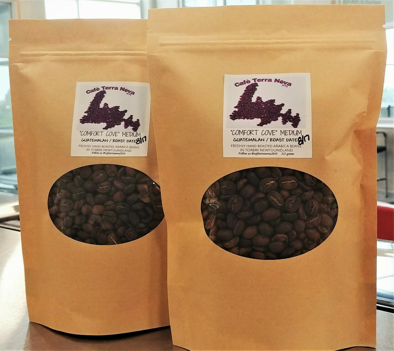 Coffee Beans - Comfort Cove -Medium Roast - Cafe Terranova - Torbay