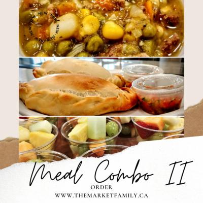COMBO 2: Beef Stew & Empanada & Fruit/Veggie Cup