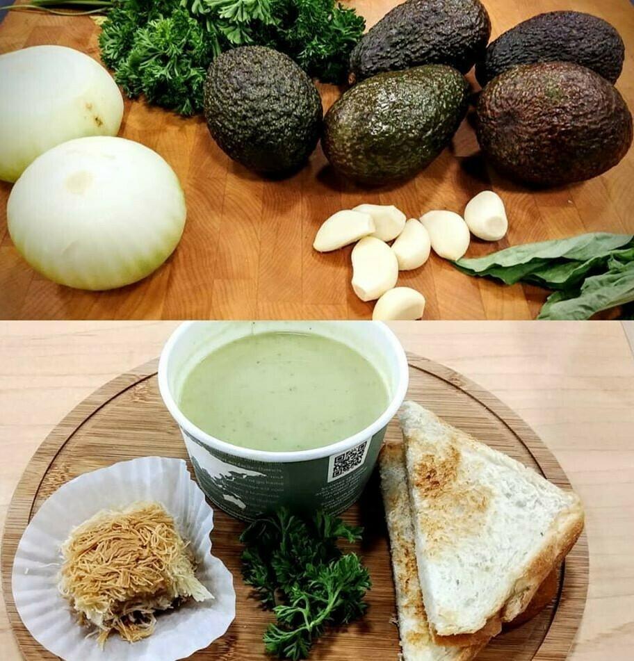 SI Weon 12Oz Soup - AVOCADO - Chilean Cuisine