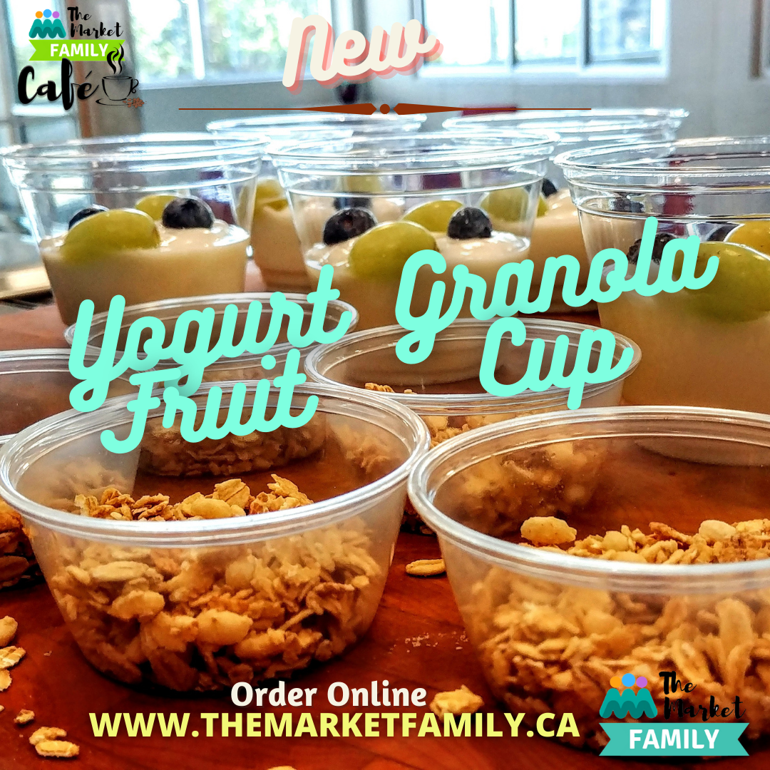 Yogurt, Granola & Fruit Cups