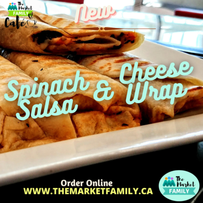 WRAP - Spinach, Salsa & Cheese - TMFC