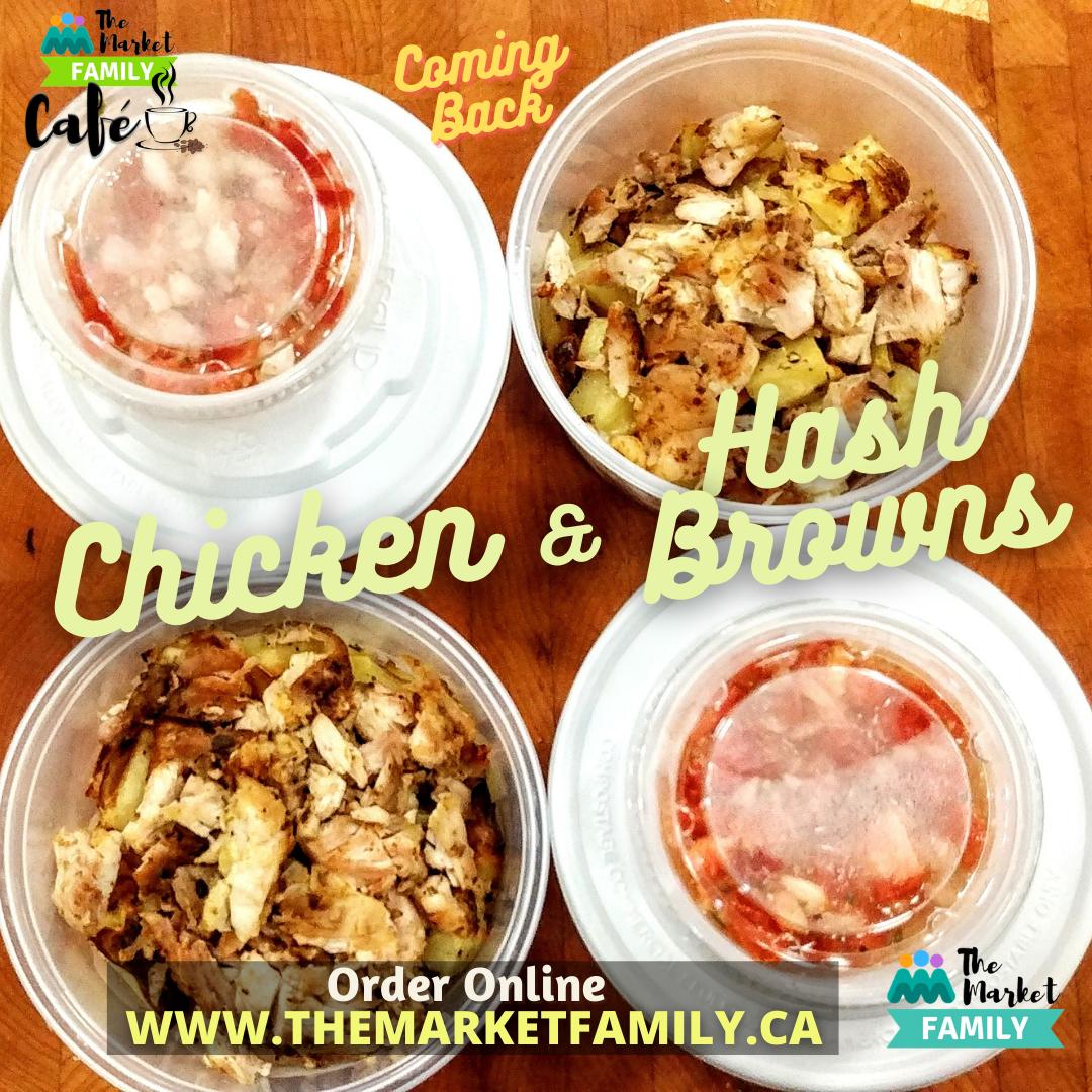 Chicken & Hash Browns 12 Oz - Si Weon