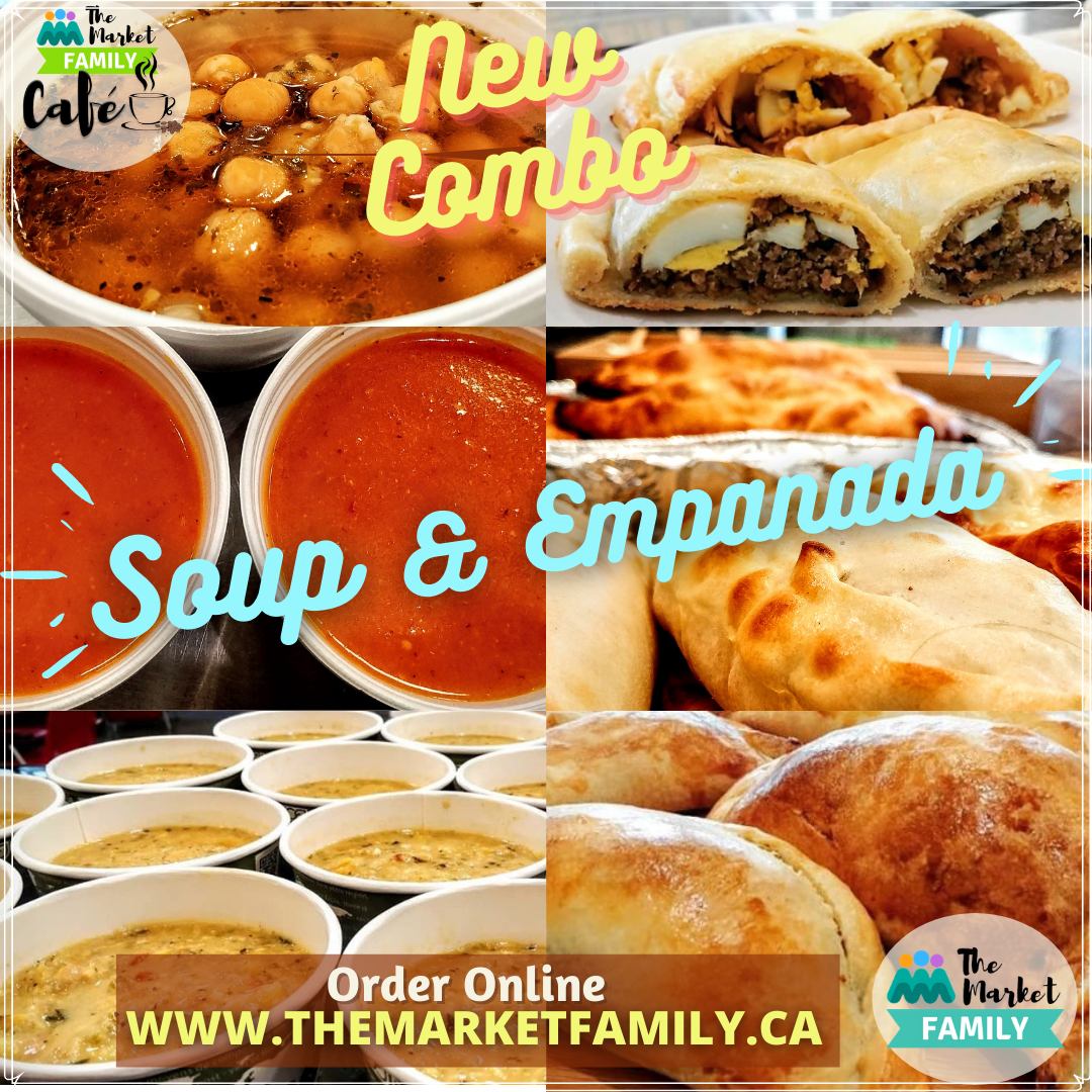 COMBO 6: Soup + Empanada by Choice - Si Weon Chilean Fusion Cuisine