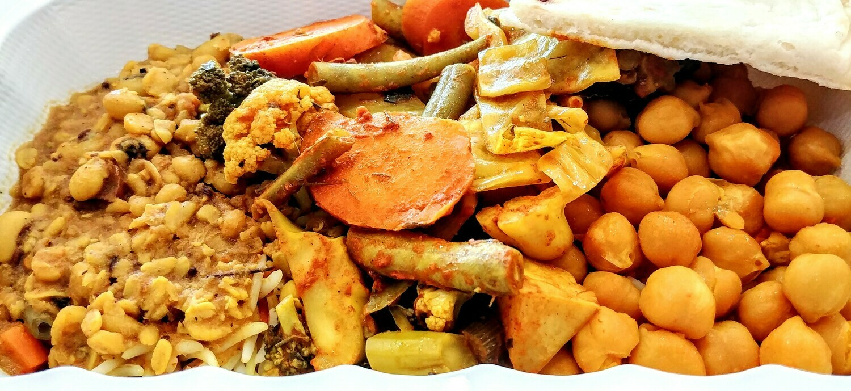 Fatima's Indian Food - Mix Vegetarian Combo