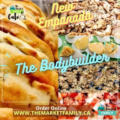 Empanadas Individual MEAT - Bodybuilder (chicken, beef, egg, salsa)