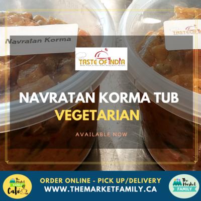 Taste of India - Navratan Korma (Vegetarian)
