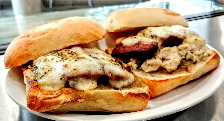 Sandwich TMFC - Chorizo, Salsa & Cheese