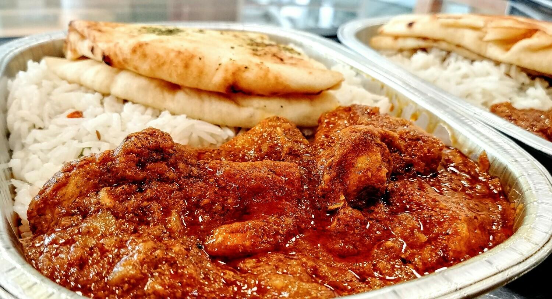 Taste of India - Chicken Vindaloo Combo (spicy)