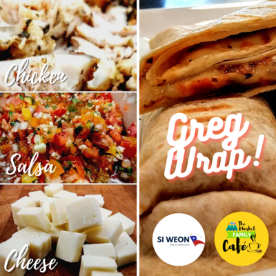 WRAP - GREG (Chicken, Salsa & Cheese)