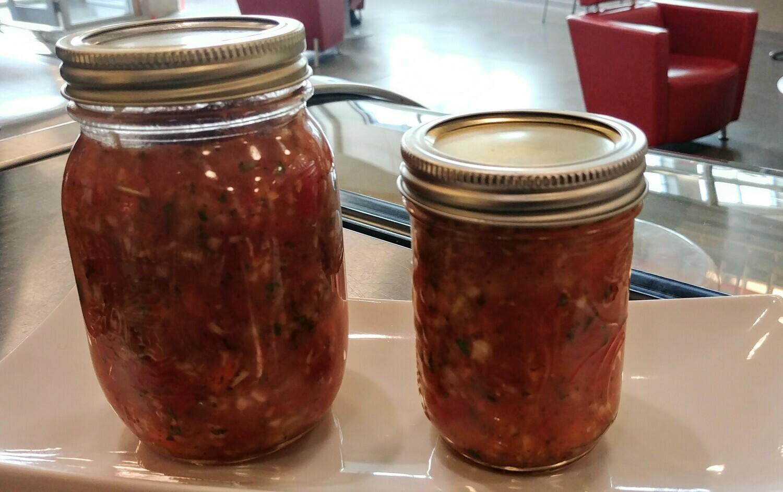 Pebre Salsa Medium Size Jar