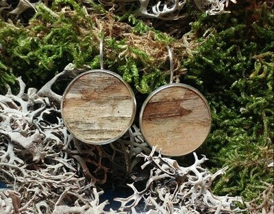 Inspired NL -Birch Bark Earrings