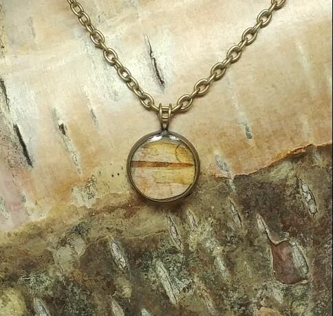 Inspired NL - Birch Bark Necklaces