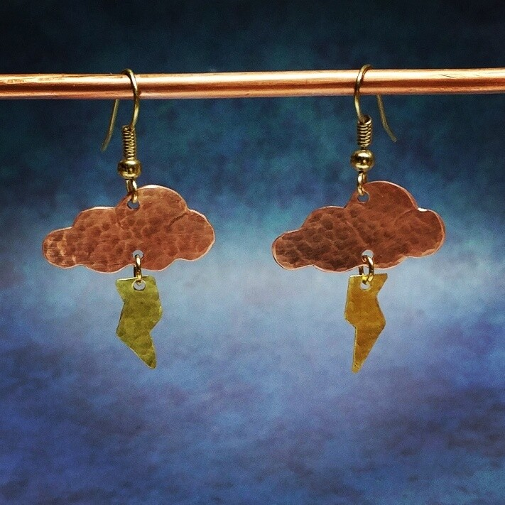 Inspired NL - Clouds Series - Silver Lining - Upcycled Pennies