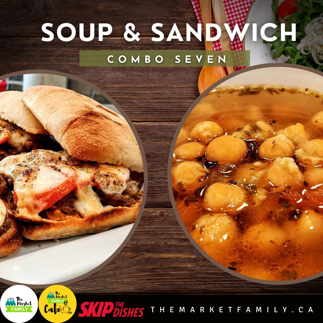 Combo 7:  Soup  + Sandwich