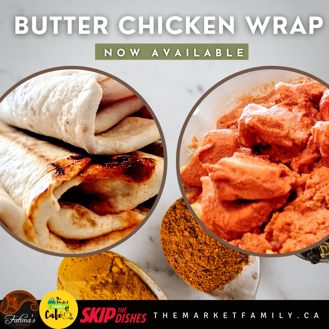Butter Chicken Wrap