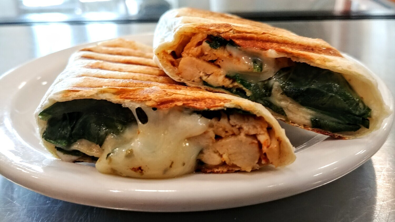 WRAP - Spinach, Chicken & Ranch Dressing