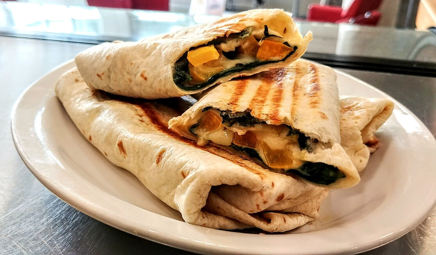 WRAP - Spinach, Ranch Dressing, Peppers & Cheese