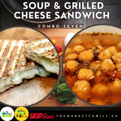 Combo 7:  Soup & Grilled Cheese Sandwich