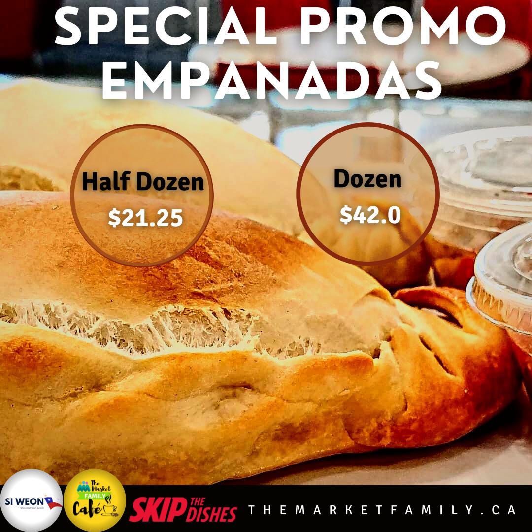 Empanadas x 6 - Special Promo