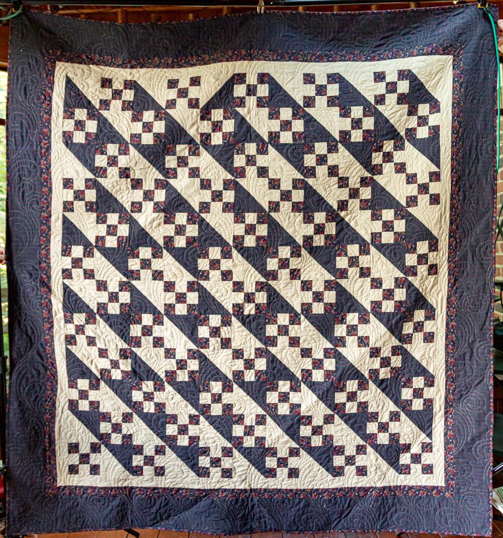 Quilt #06 - Diagonal Four Patch