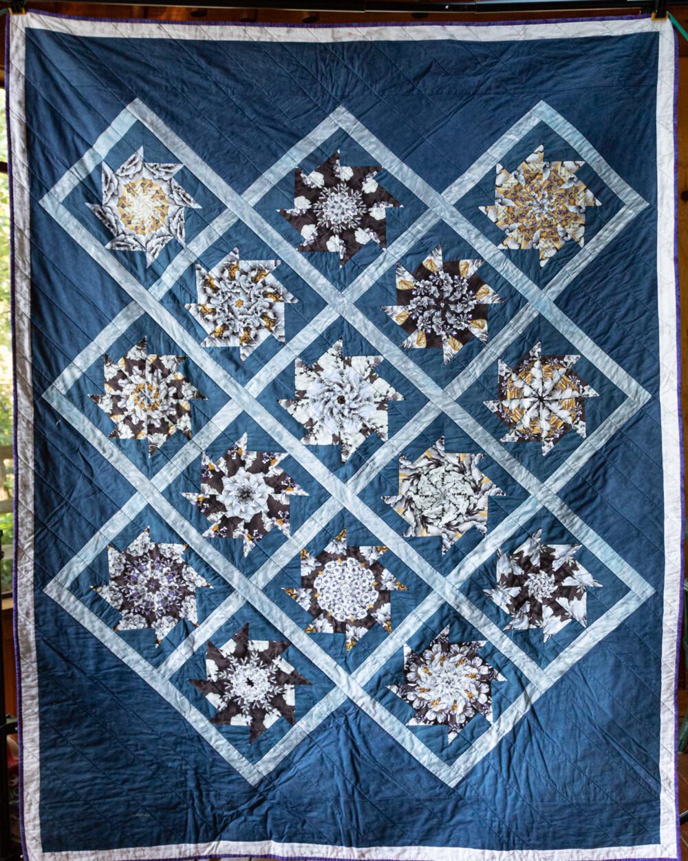Quilt #18 - Kaleidoscope Stars