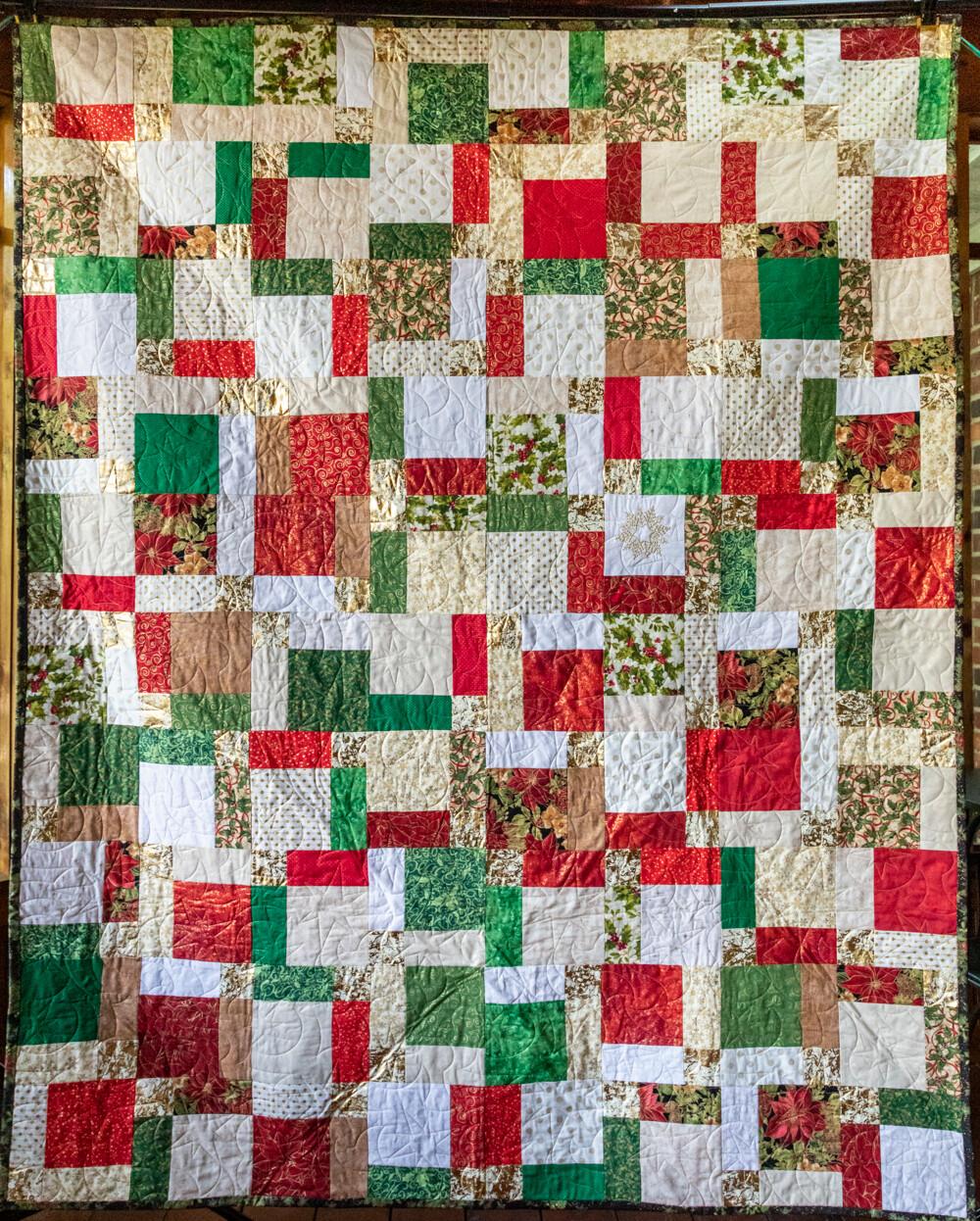 Quilt #08 - Christmas Bling