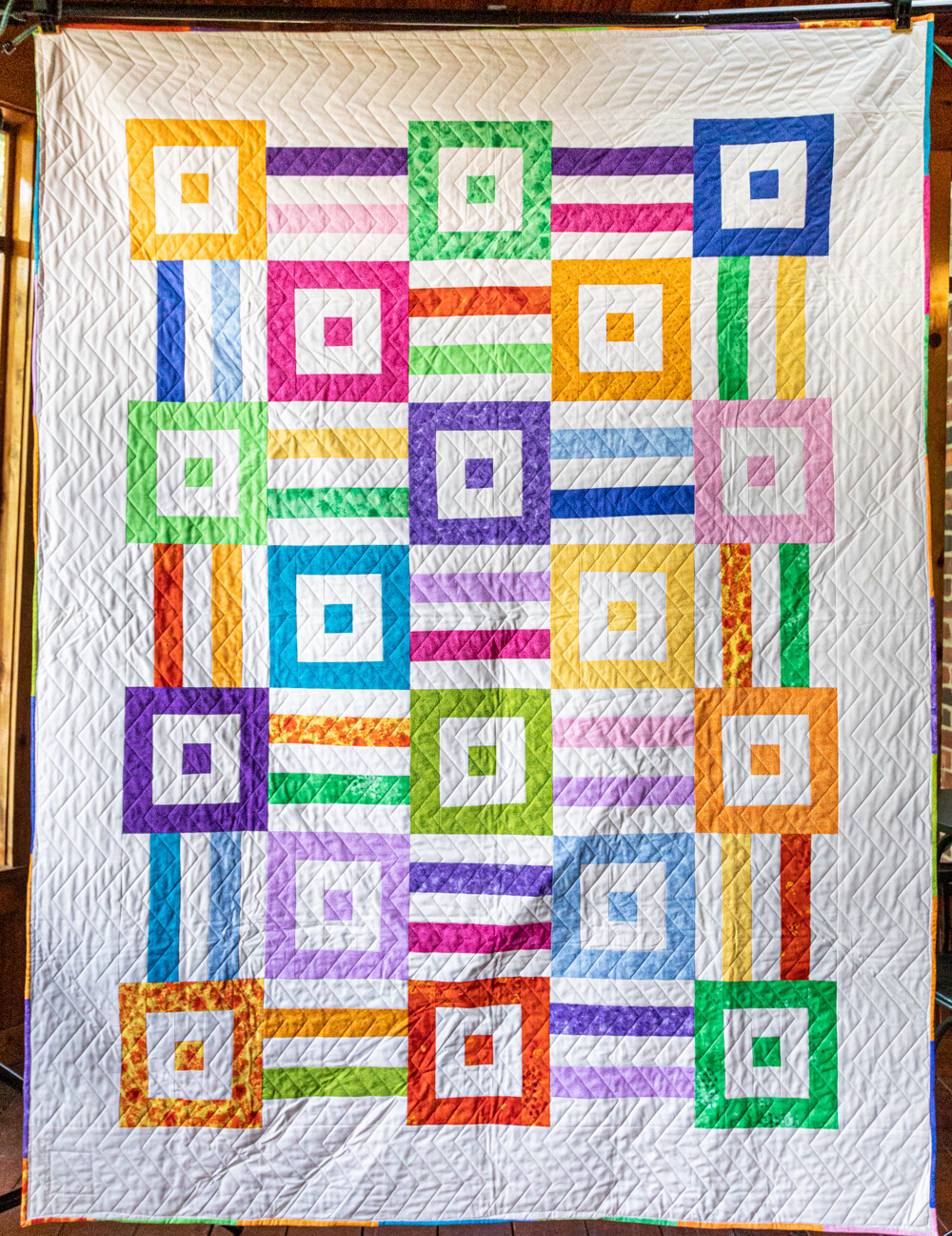 Quilt #10 - Connected Boxes