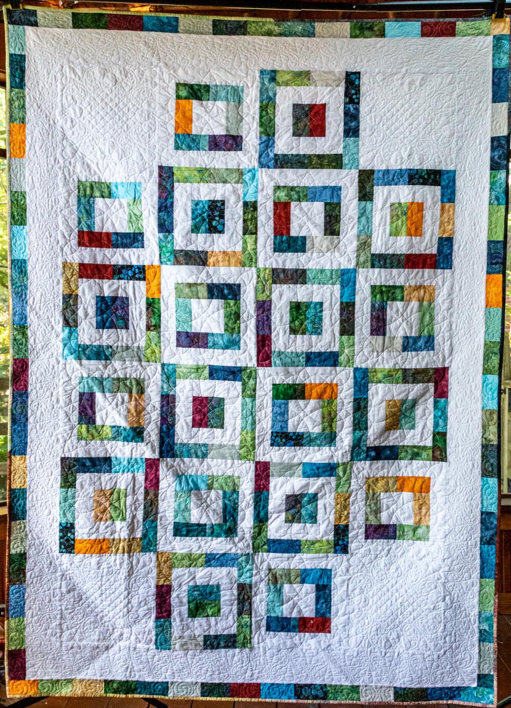 Quilt #19 - Boxed Batiks #1