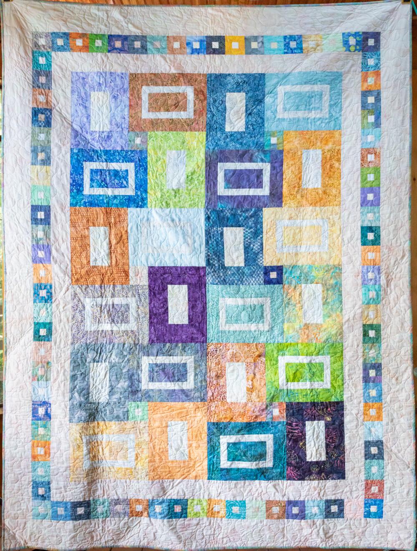 Quilt #22 - Boxed Batiks #2