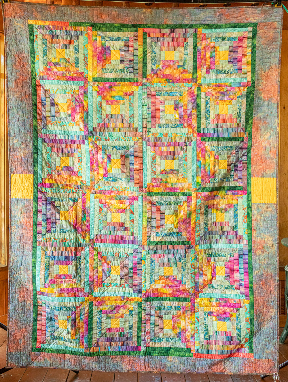 Quilt #17 - Colored Steps