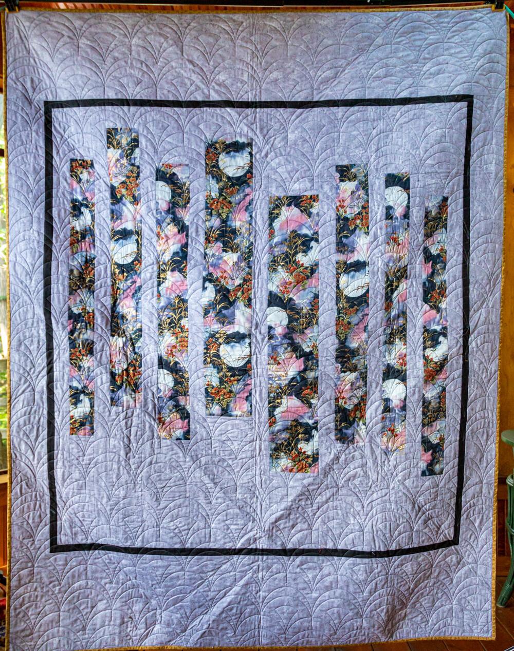 Quilt #15 - Moonflower