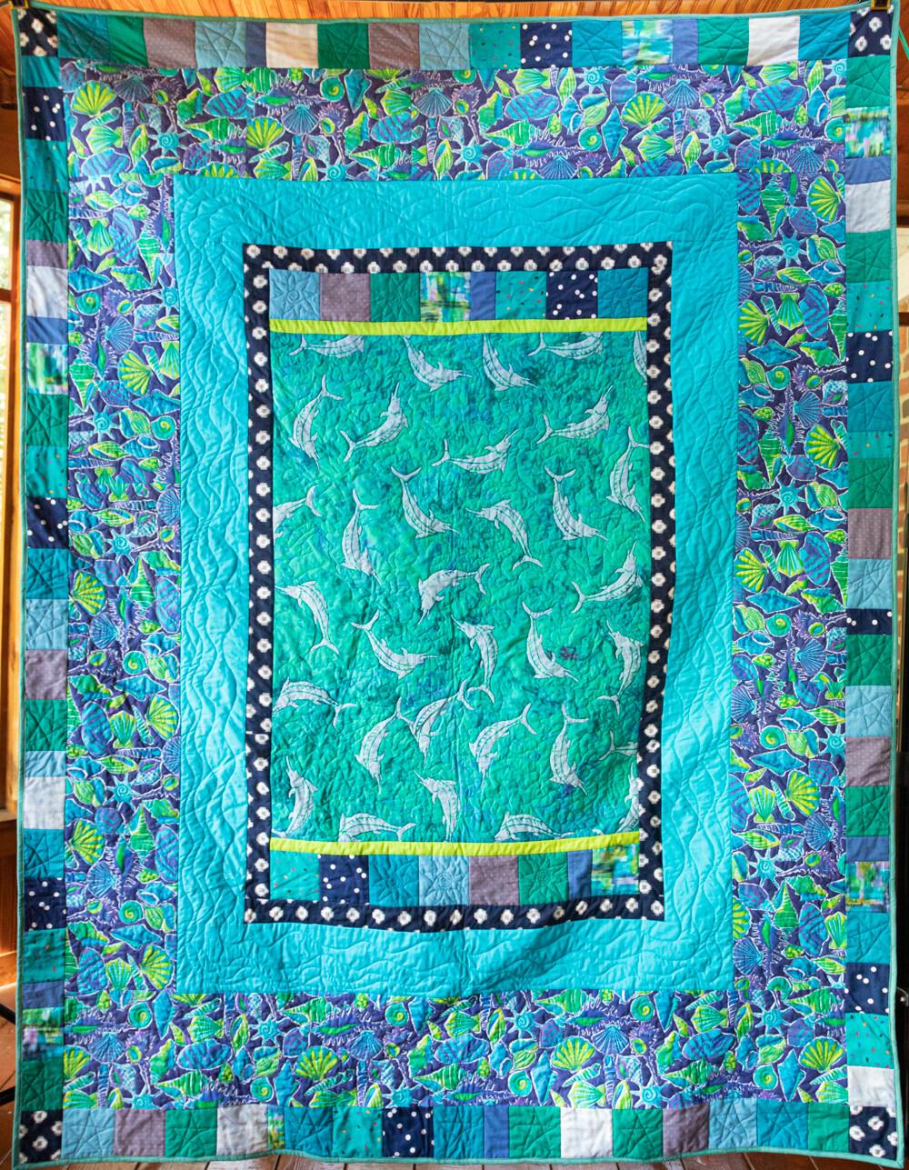 Quilt #27 - Ocean Life