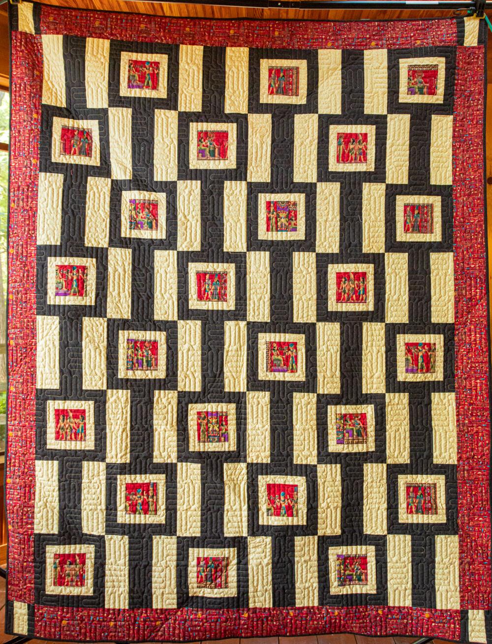 Quilt #26 - Walk Like an Egyptian