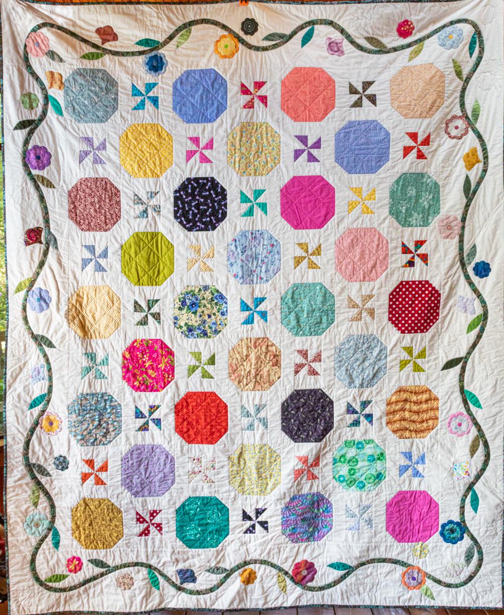 Quilt #31 - Flower Vine