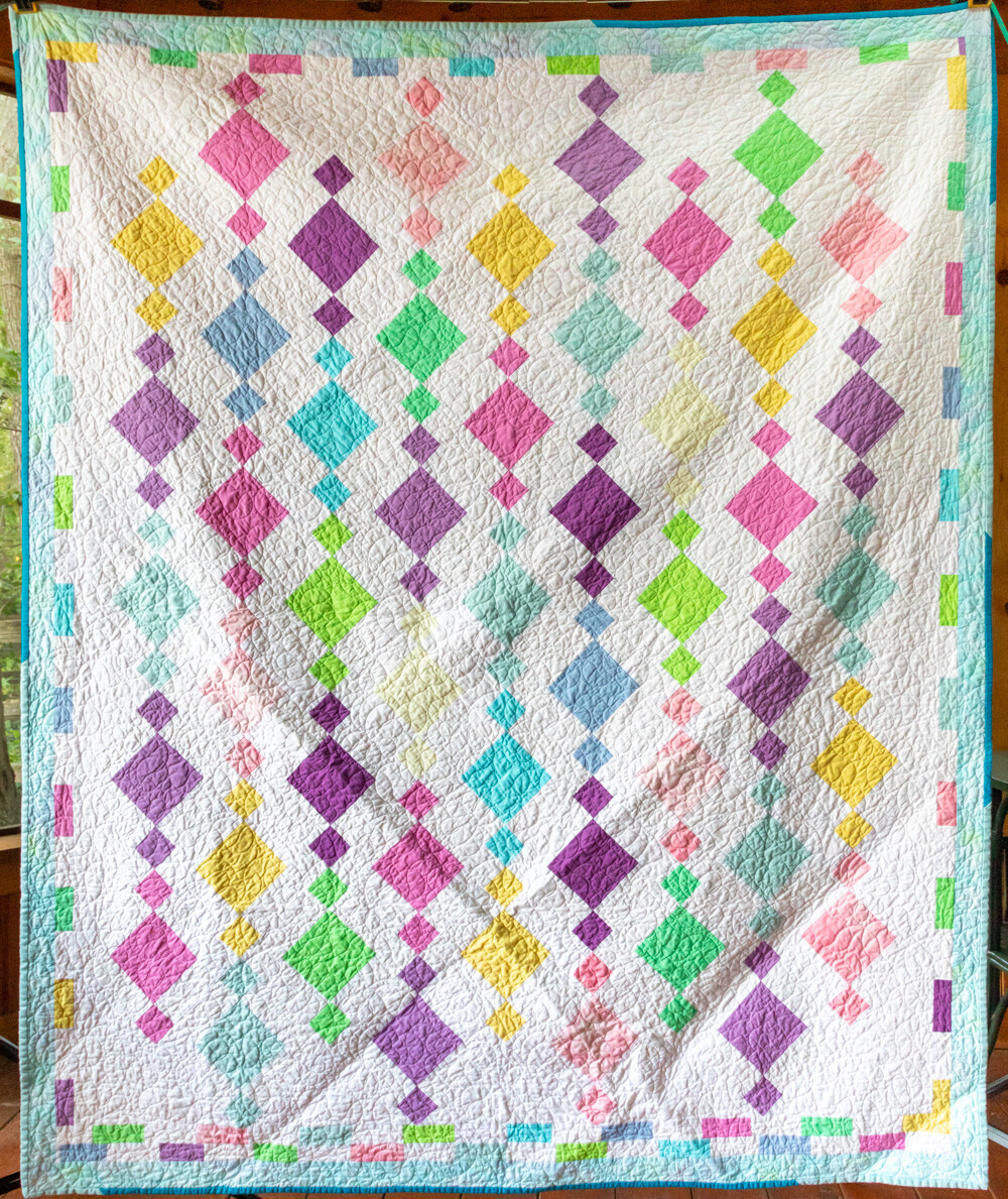 Quilt #36 - Beaded Squares