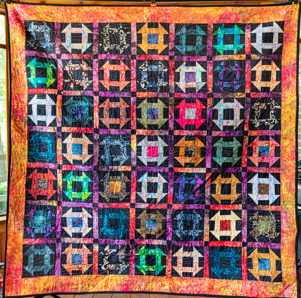 Quilt #55 - Batik Churn