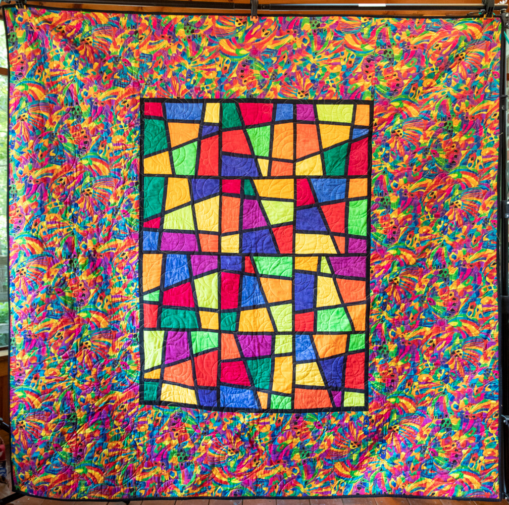 Quilt #50 - Stained Glass