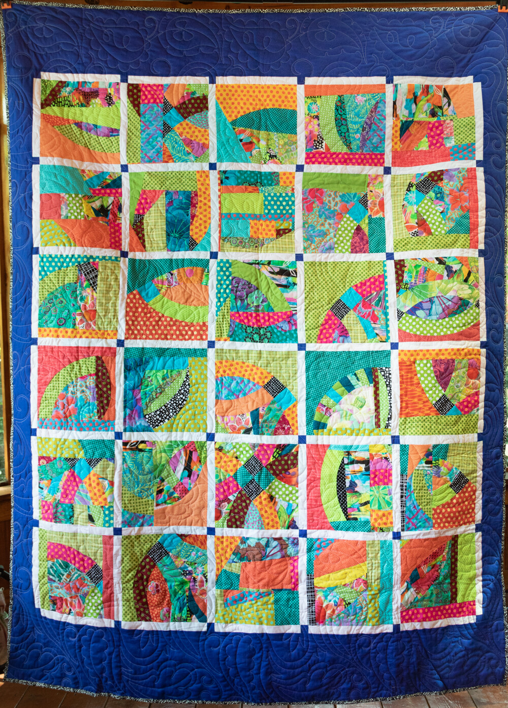 Quilt #60 - Curved Square