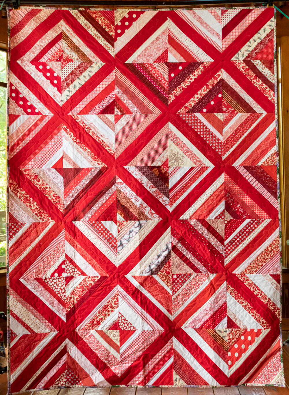 Quilt #58 - Holiday Reds