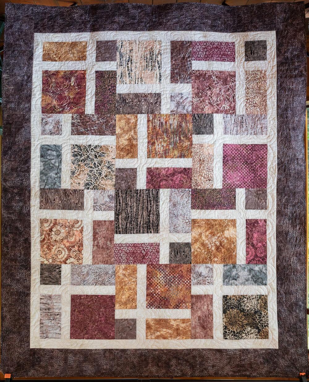 Quilt #59 - Square Stones