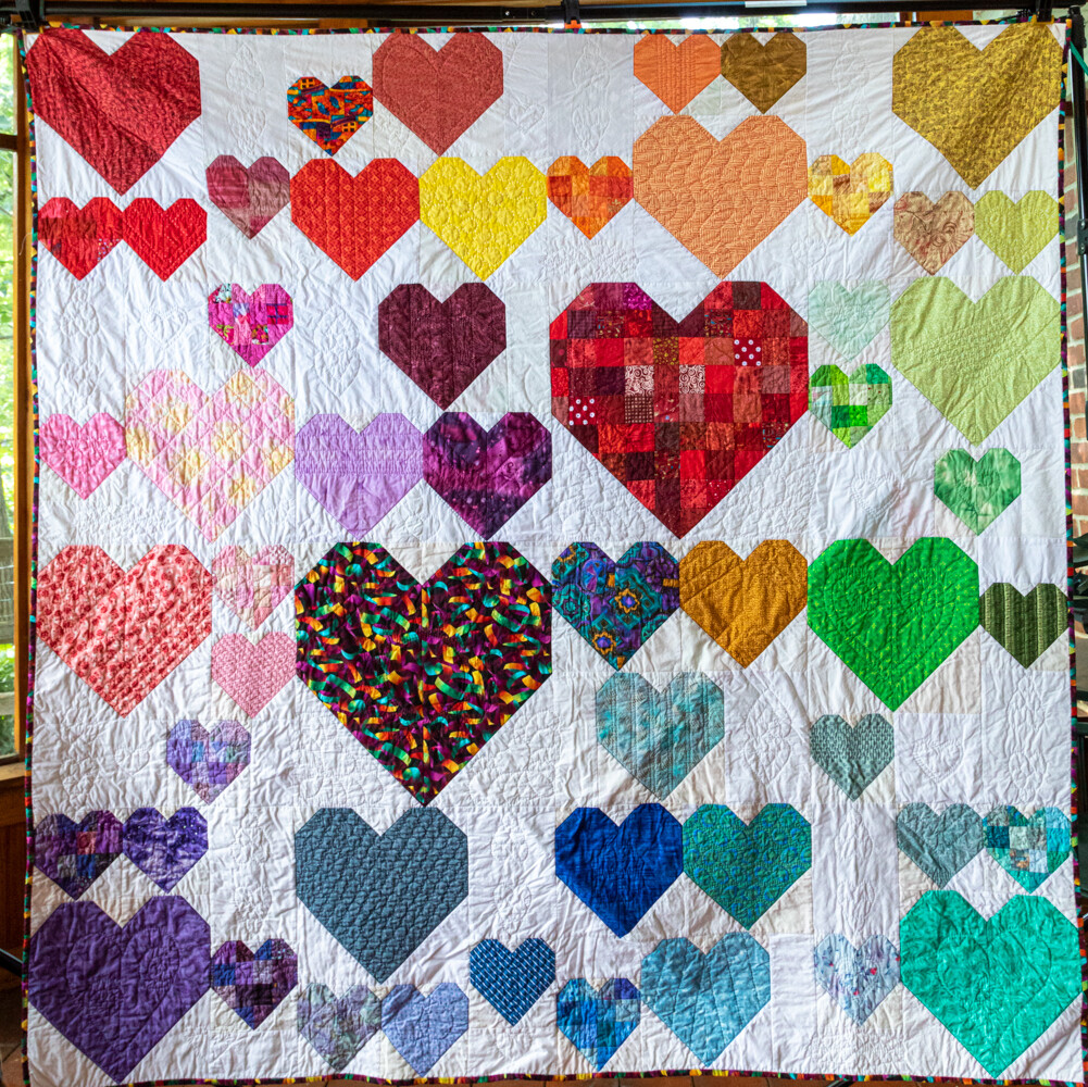 Quilt #56 - Hearts