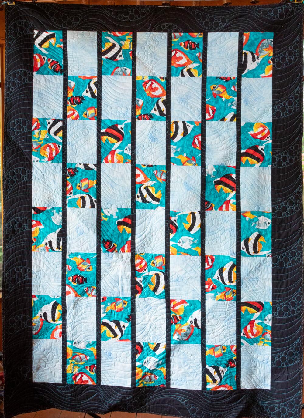 Quilt #62 - Aquarium