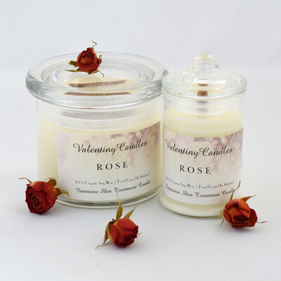 "Soy Wax ""Rose"" Candle"