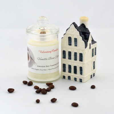 "Soy Wax ""Vanilla Coffee Bean"" Candle"