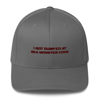 I Got Dunk'ed Structured Twill Cap