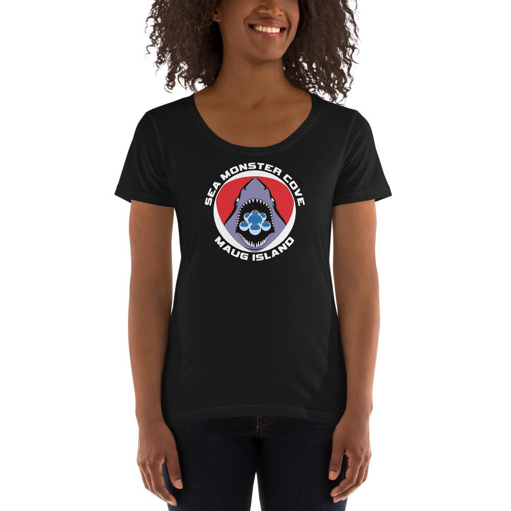 Layla SMC (White Letters) Ladies' Scoopneck T-Shirt