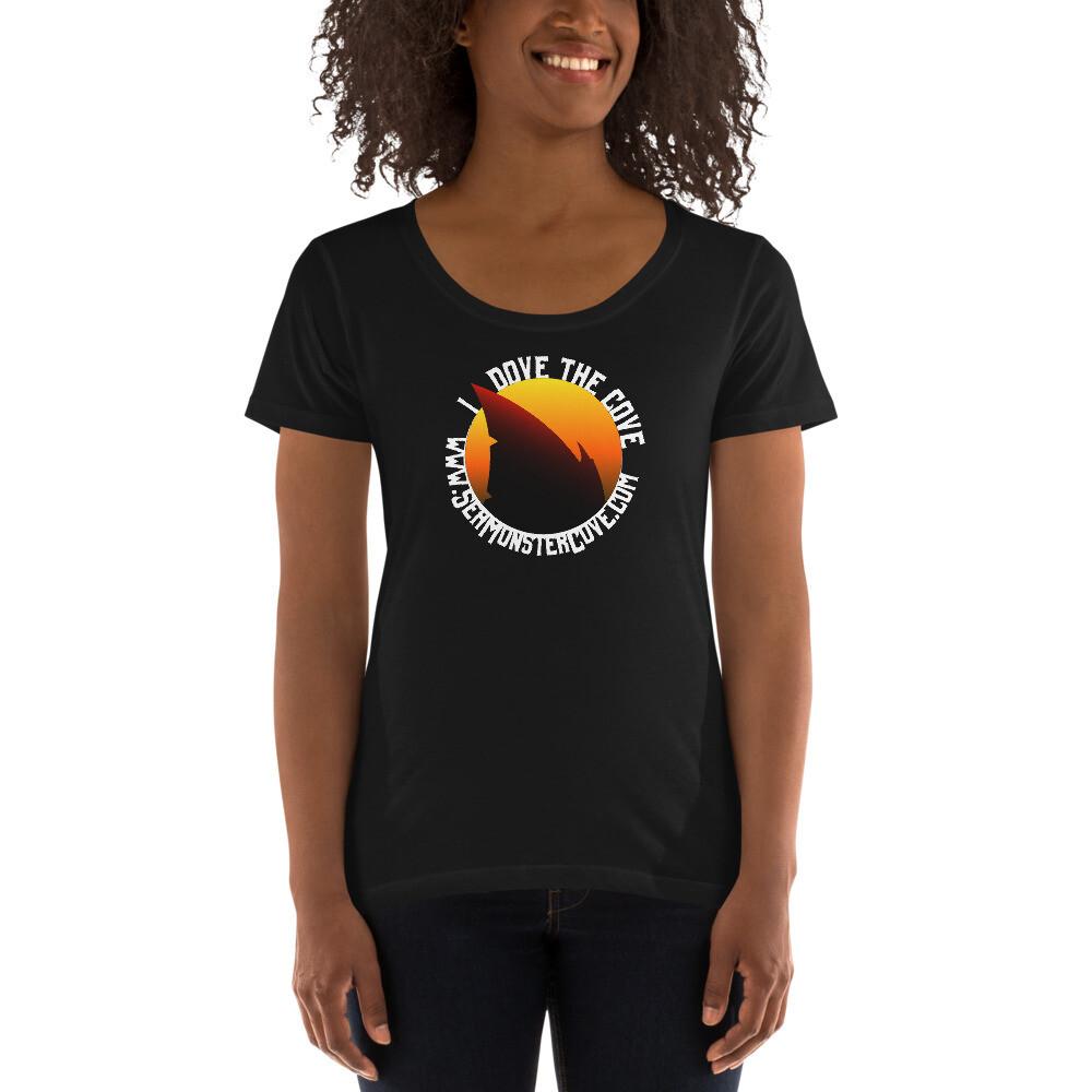 I Dove The Cove Ladies' Scoopneck T-Shirt