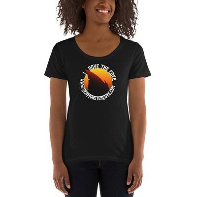 I Dove The Cove Ladies' Scoopneck T-Shirt
