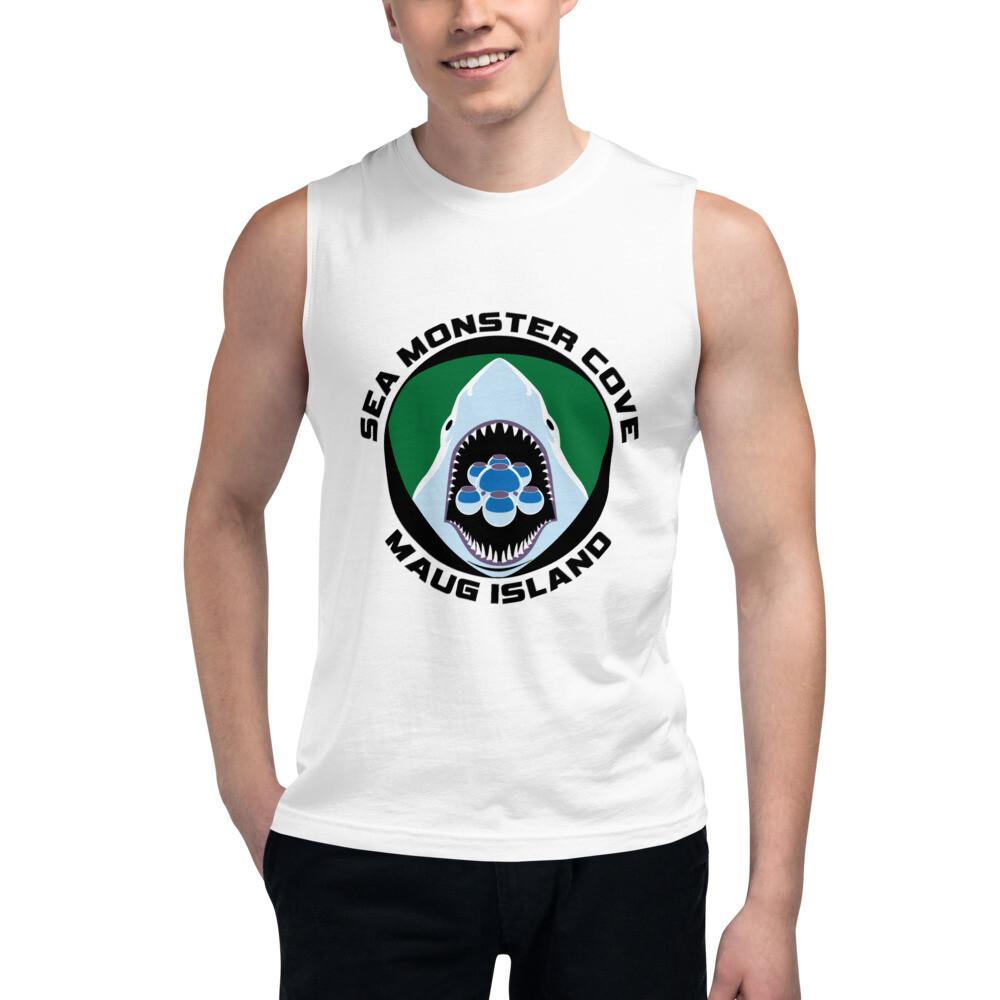 Snowflake SMC (Black Letters) Muscle Shirt